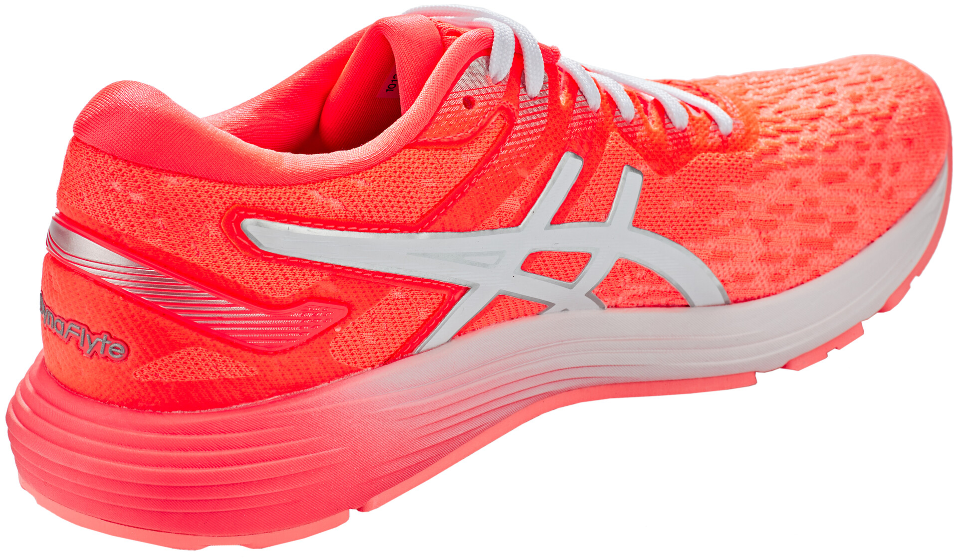 asics Dynaflyte 4 Shoes Women flash coral/white